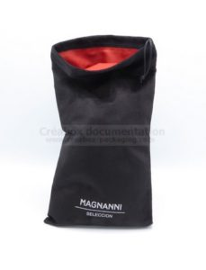 microfiber bag with satin lining
