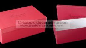 ready-to-assemble shoe box 28x17x10cm